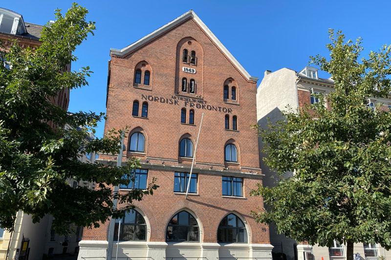 Foto af kontoret i København